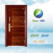 China Newest Develop and Design Single Steel Security Door (FD-929)